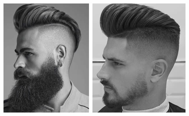 Coupe homme long derriere
