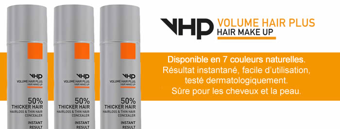 Volume hair plus trous barbe
